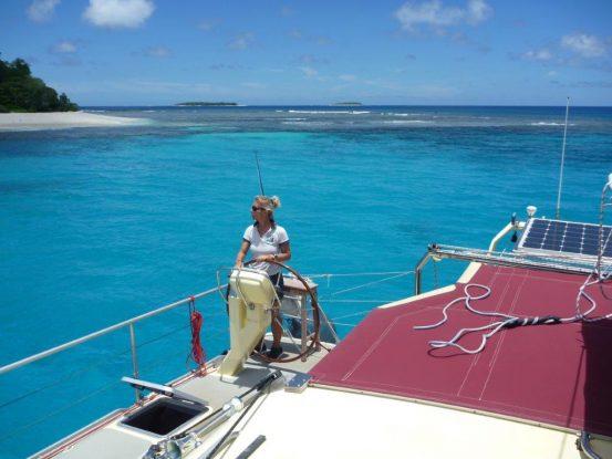 Mareike Guhr - Vorbild für Frauen auf dem Wasser