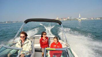 Fahrtraining bei der Interboot